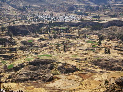 Valle del Colca  |  Landslide of Madrigal