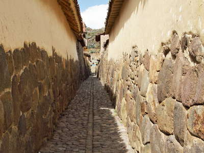Ollantaytambo  |  Ancient road
