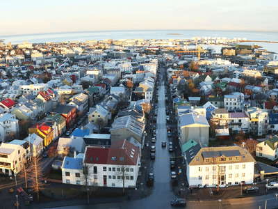 Reykjavik | Panorama of city centre