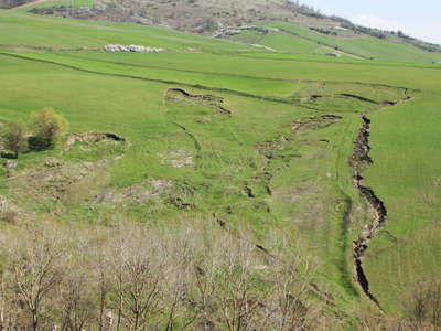 Rionero in Vulture | Shallow landslides and erosion