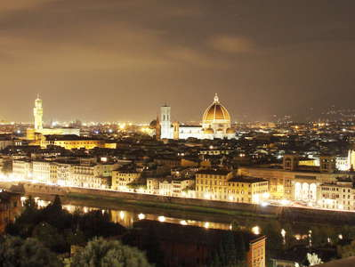 Firenze | Nighttime panorama