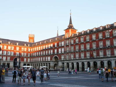 Madrid | Plaza Mayor at sunset