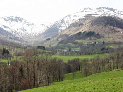 Monts du Cantal with Puy de Peyre Arse
