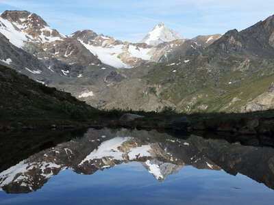Martell Valley | Reflection of Königsspitze