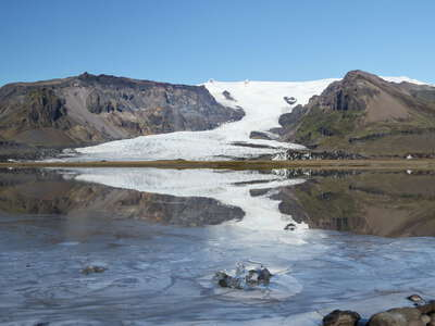 Öræfajökull | Reflection of Kvíárjökull