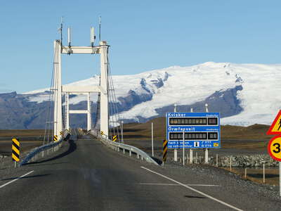 Ring Road | Bridge with Öræfajökull