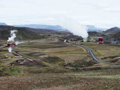 Mývatn | Geothermal power plant