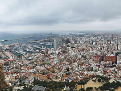 Alicante | Panoramic view from Monte Benacantil