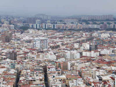Alicante | Sea of buildings
