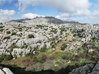 Torcal de Antequera | Panoramic view