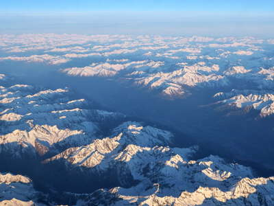 Valtellina from the air