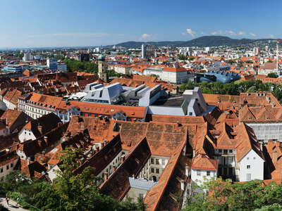 Graz | Panoramic view from Schloßberg