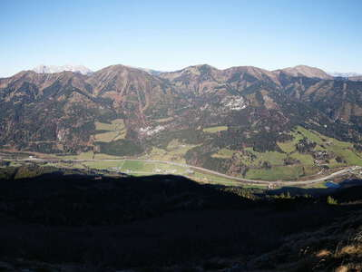 Schober Pass with Palten and Liesing valleys